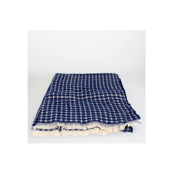 Gai Mattiolo Accessories Scarf Blue E102-1