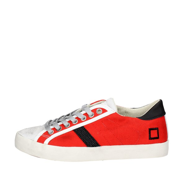 D.a.t.e. Shoes Low Sneakers Red E18-113