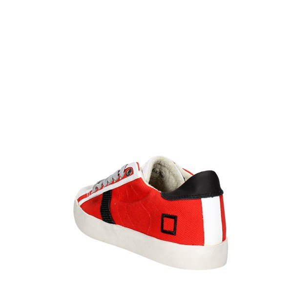 <D.a.t.e. Shoes Low Sneakers Red E18-113