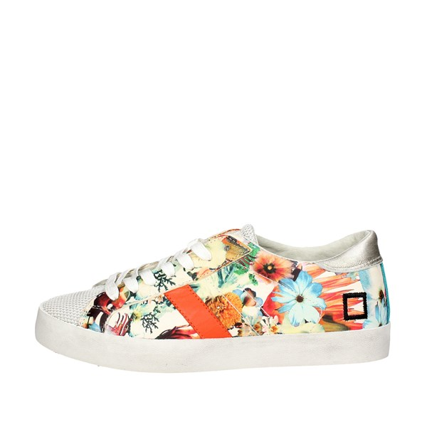 D.a.t.e. Shoes Low Sneakers Flowered E18-115