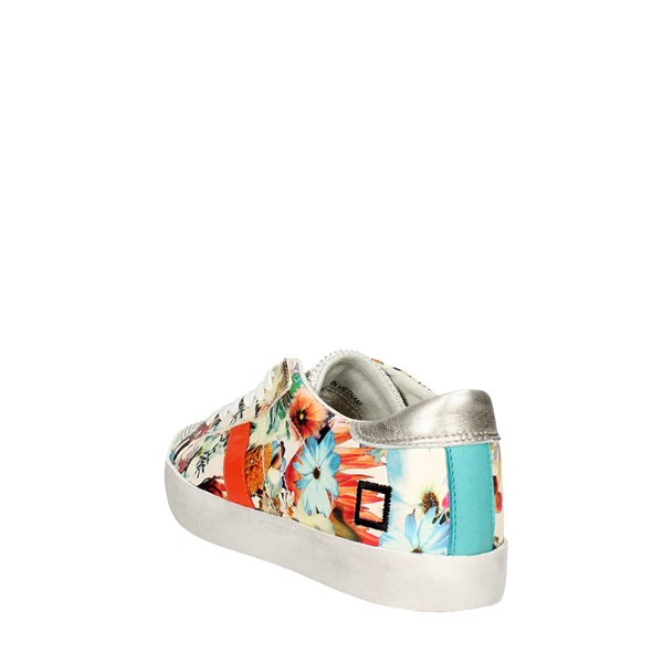 <D.a.t.e. Shoes Low Sneakers Flowered E18-115