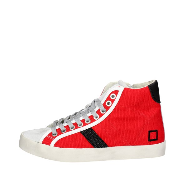 D.a.t.e. Shoes High Sneakers Red E18-137