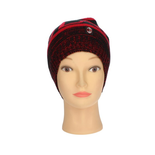 Milan Accessories Hat Red/Black 14837 UOMO