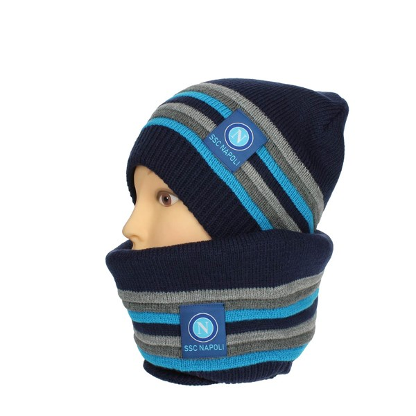 Napoli Accessories Hat Blue 12783 UOMO