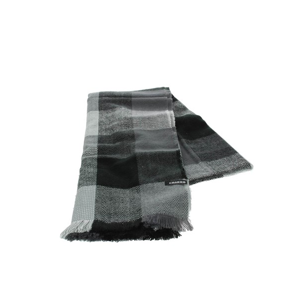 Charro Accessories Scarves Grey/Black 18681