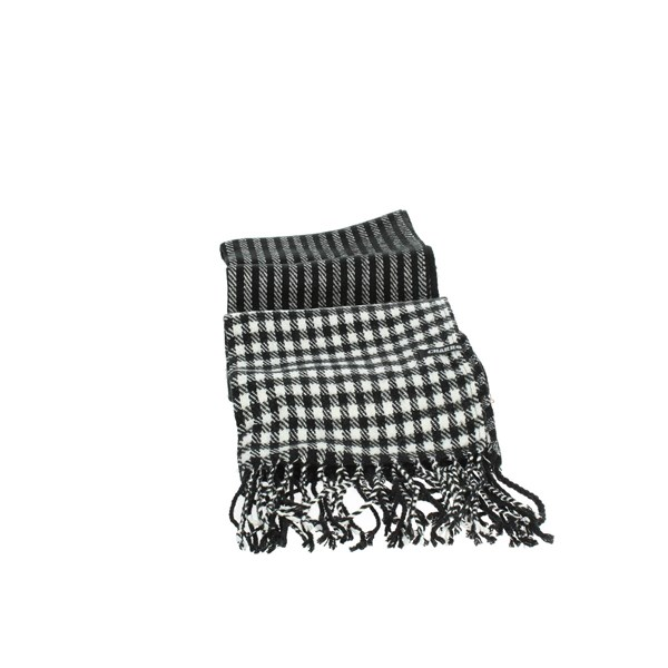 Charro Accessories Scarves Black/White 18682