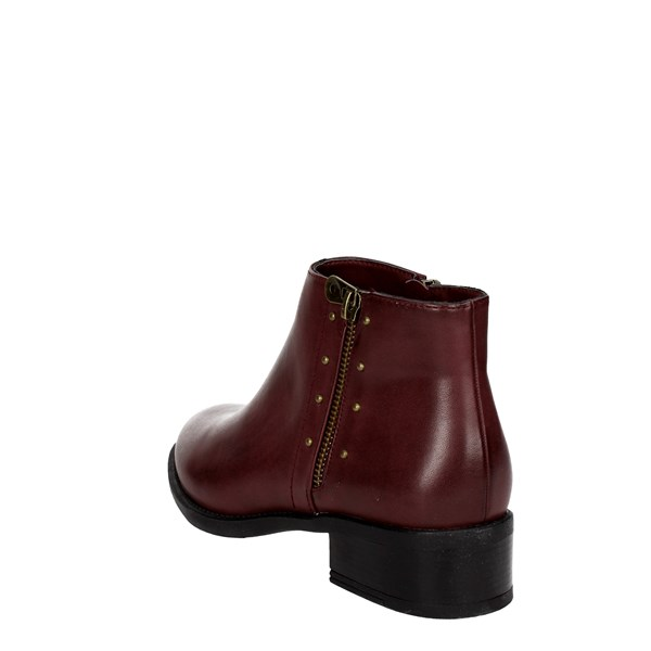 Mariamare Shoes Ankle Boots Burgundy 62017