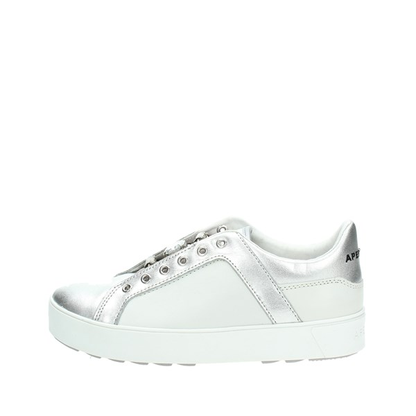 Apepazza Shoes Low Sneakers White/Silver DLW09