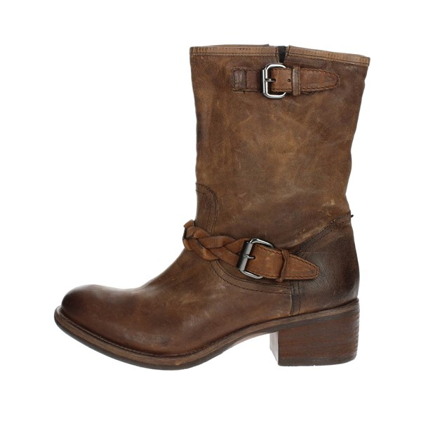 Peperosa Shoes Ankle Boots Brown 9209/1