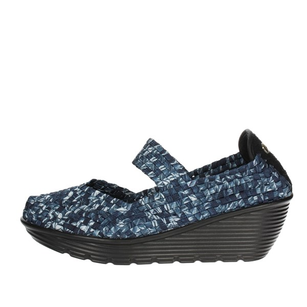 Pregunta Shoes Ballet Flats Blue/White PCAKELLY-006