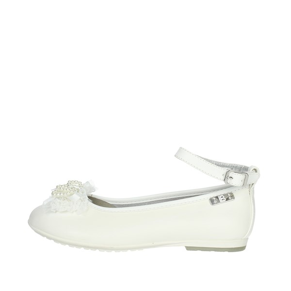 Laura Biagiotti Dolls Shoes Ballet Flats White 3407