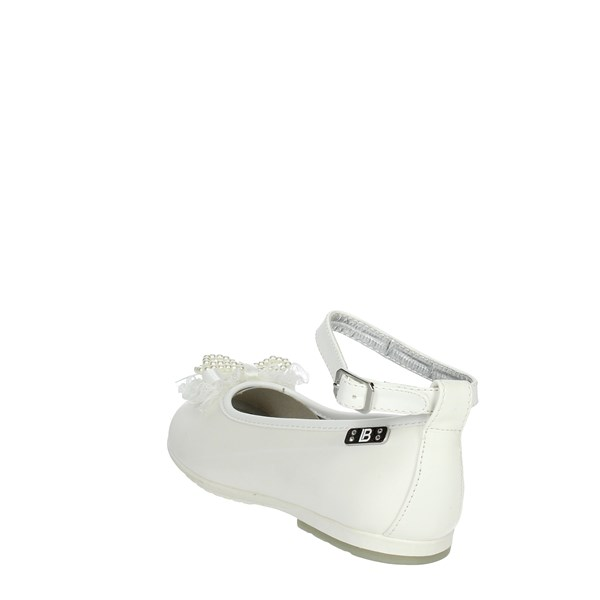 <Laura Biagiotti Dolls Shoes Ballet Flats White 3407