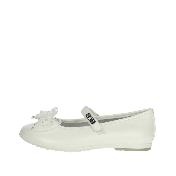 Laura Biagiotti Dolls Shoes Ballet Flats White 3406