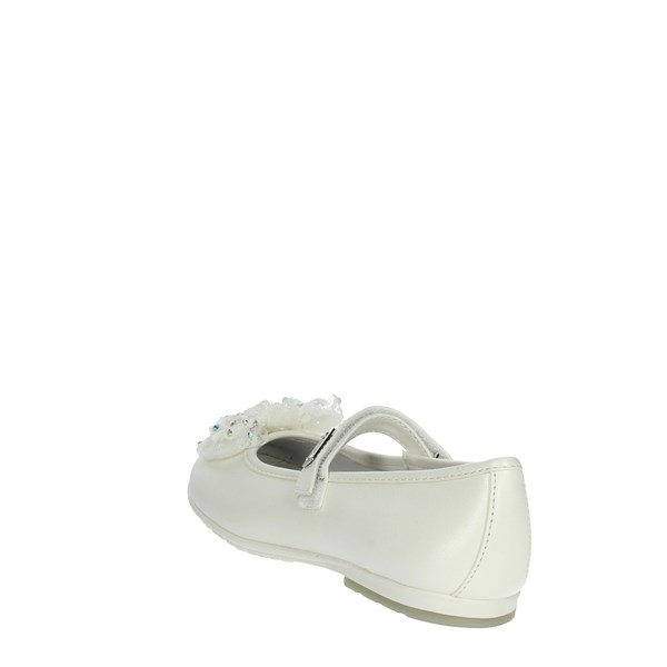 <Laura Biagiotti Dolls Shoes Ballet Flats White 3406