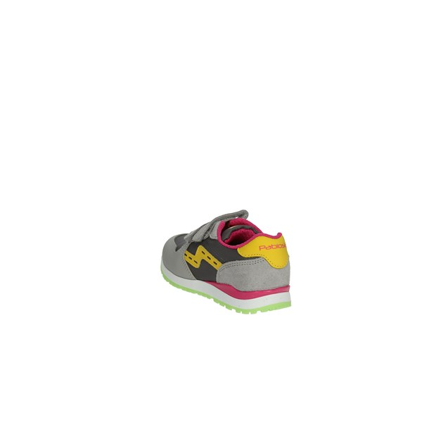 Pablosky Shoes Sneakers Grey/Fuchsia 269357