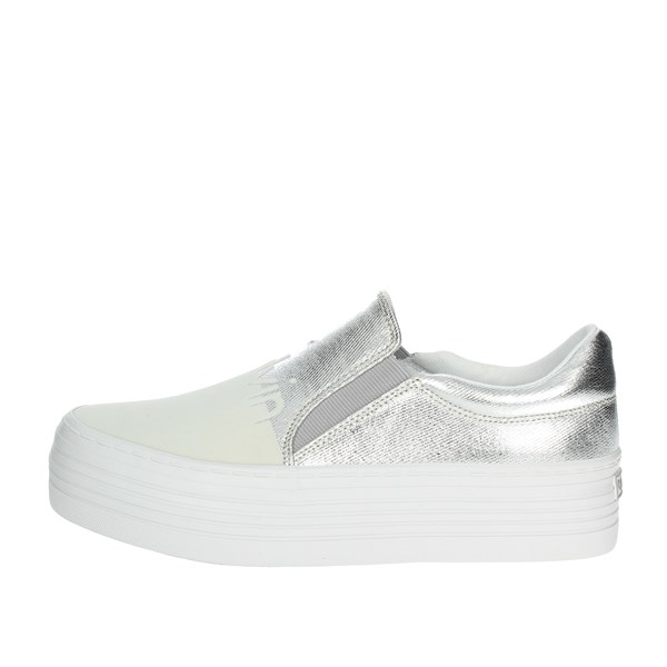 Calvin Klein Jeans Shoes Slip-on Shoes White/Silver R0644