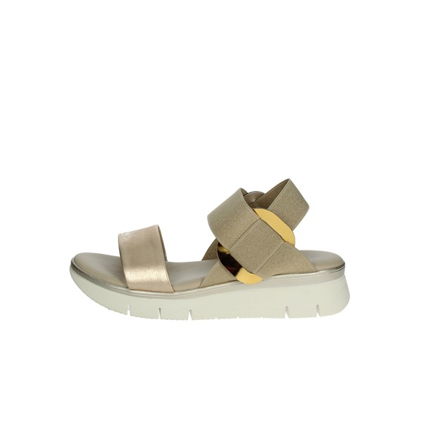 The Flexx Shoes Sandals Gold D2016