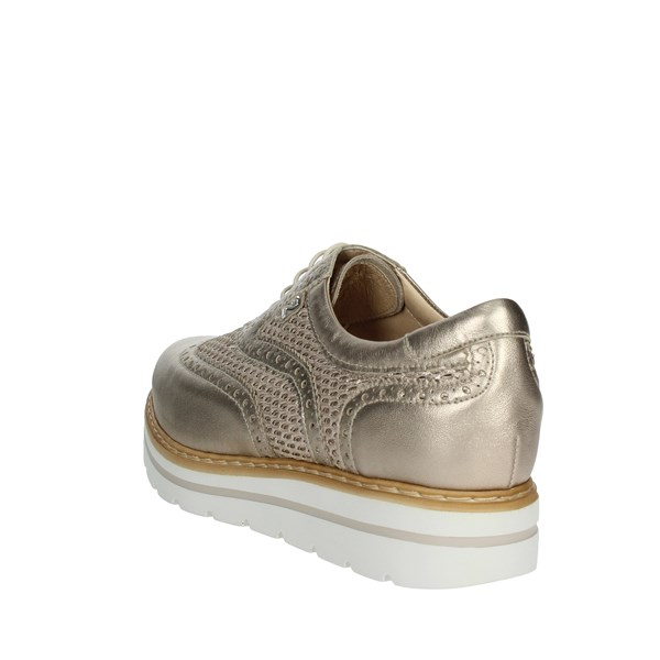 Nero Giardini Shoes Brogue Platinum  P805213D