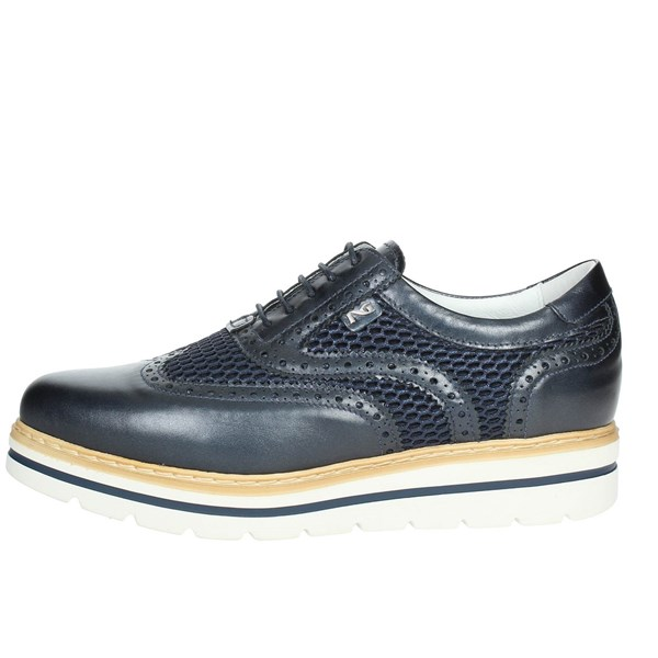 Nero Giardini Shoes Brogue Blue P805213D