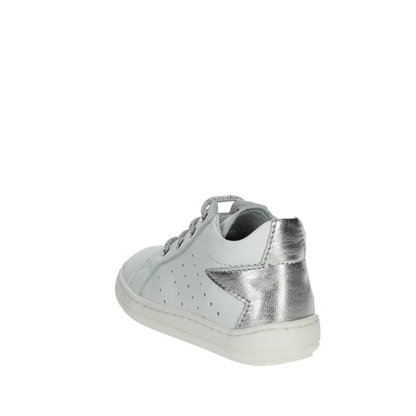 <Naturino Shoes Low Sneakers White/Silver 0012012147.02.9111