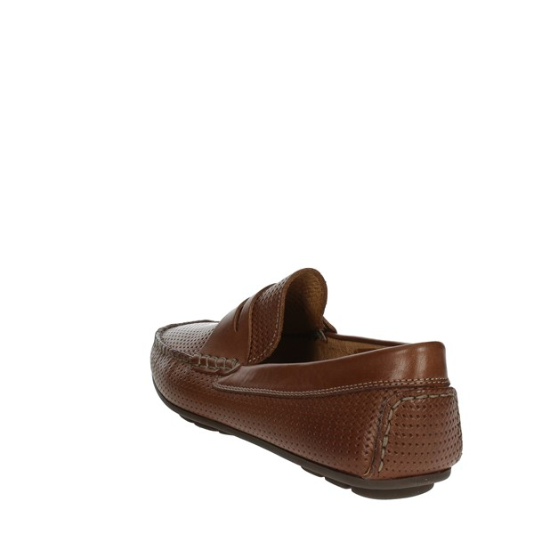 <Imac Shoes Moccasin Brown 102140