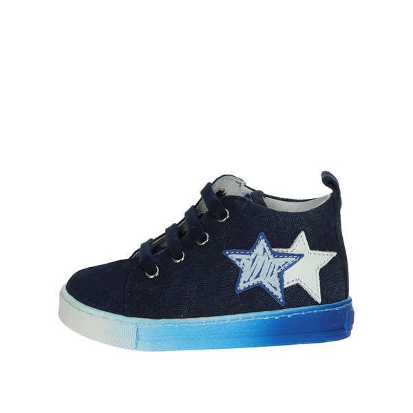 Falcotto Shoes High Sneakers Sky-blue 0012012337.01.9101