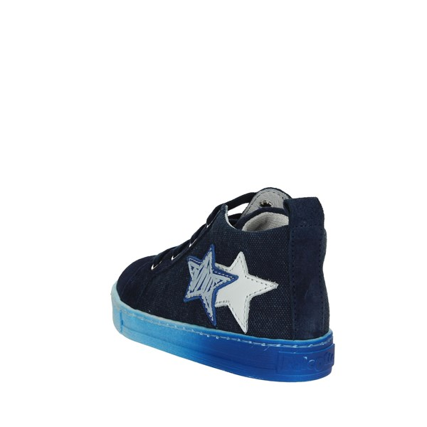<Falcotto Shoes High Sneakers Sky-blue 0012012337.01.9101