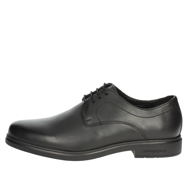 Lumberjack Shoes Brogue Black SM41204-002 B01