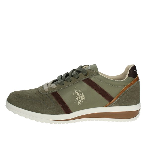 U.s. Polo Assn Shoes Low Sneakers Dark Green FLOYD4045S8/LT1