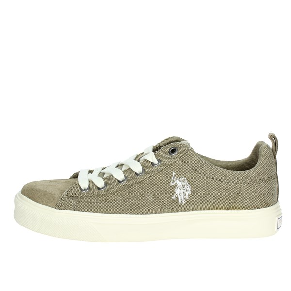 U.s. Polo Assn Shoes Low Sneakers Brown Taupe FREDY4045S8/C1