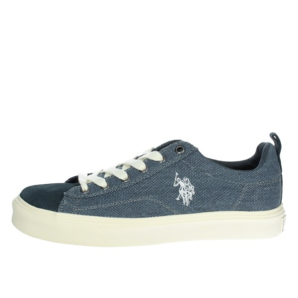 U.s. Polo Assn Shoes Low Sneakers Blue FREDY4045S8/C1