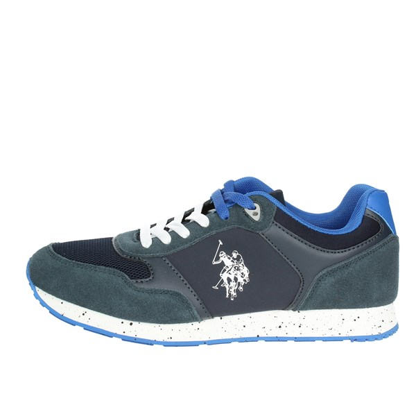 U.s. Polo Assn Shoes Low Sneakers Blue FLASH4060S8/LT1