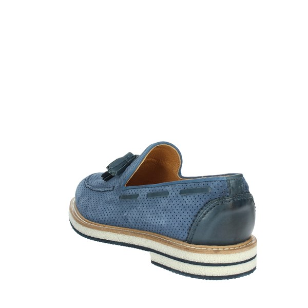 Exton Shoes Moccasin Blue Avio 675
