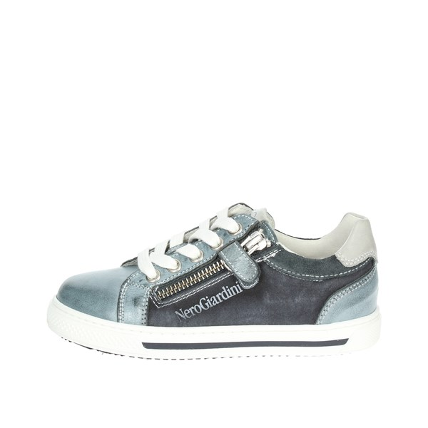 Nero Giardini Shoes Sneakers Blue/Grey P833020M/214