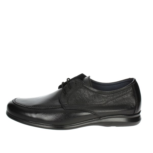 Baerchi Shoes Laced Black 3590