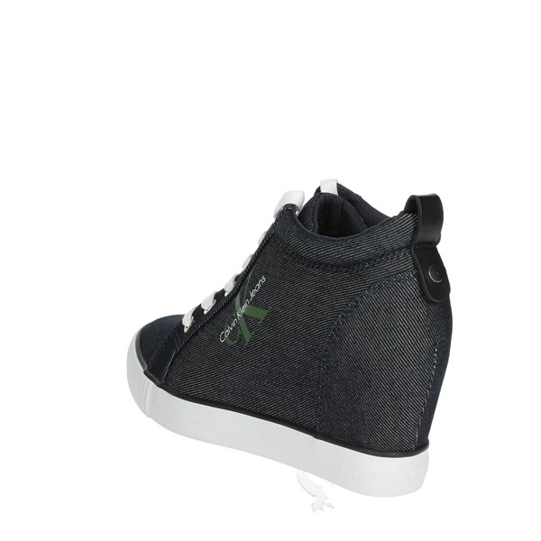 <Calvin Klein Jeans Scarpe Donna Sneakers JEANS R8957