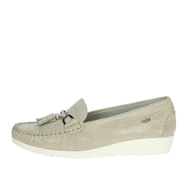 Adriana Del Nista Shoes Moccasin Beige 9521