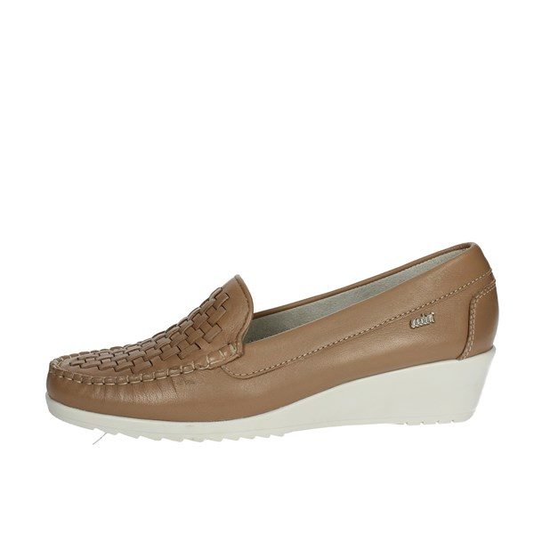 Adriana Del Nista Shoes Moccasin Brown leather 2212/D