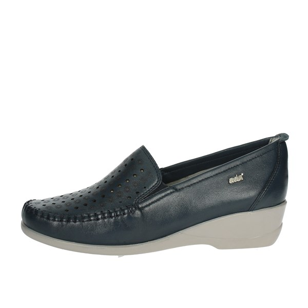 Adriana Del Nista Shoes Moccasin Blue 2855/D