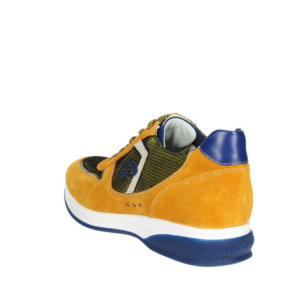 <Cristiano Gualtieri Shoes Low Sneakers Yellow 539(1)