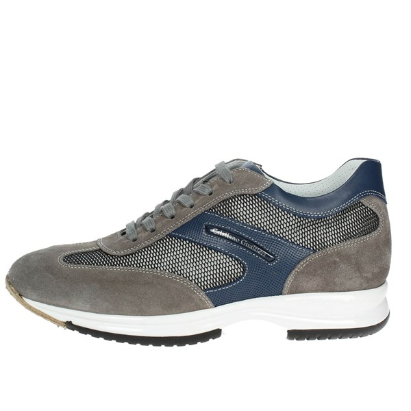 Cristiano Gualtieri Shoes Low Sneakers Grey/Blue 458/TX(5)