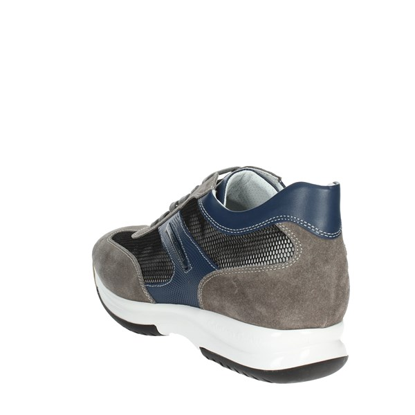 <Cristiano Gualtieri Shoes Low Sneakers Grey/Blue 458/TX(5)