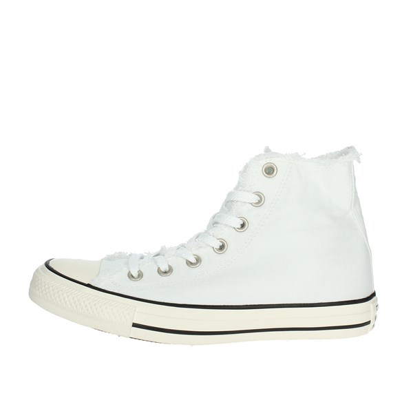 Converse Shoes High Sneakers White 161016C