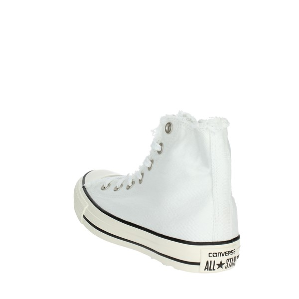 <Converse Shoes High Sneakers White 161016C