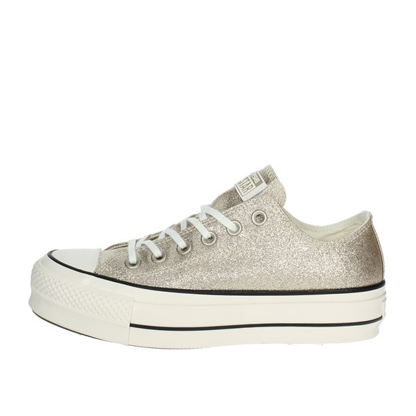 Converse Shoes Low Sneakers Gold 561041C
