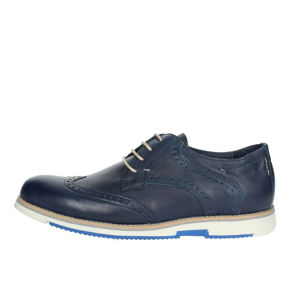 Zen Shoes Brogue Blue 677189