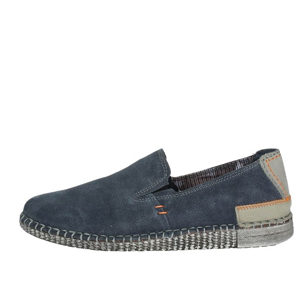 Zen Shoes Loafers Blue 676854