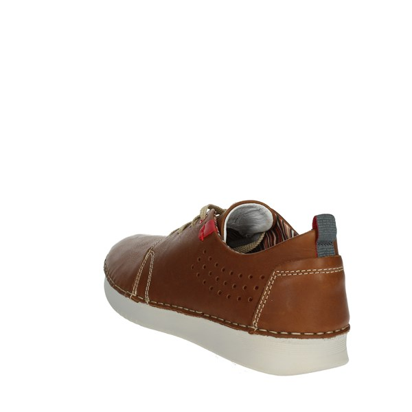 Zen Shoes Sneakers Brown leather 677450