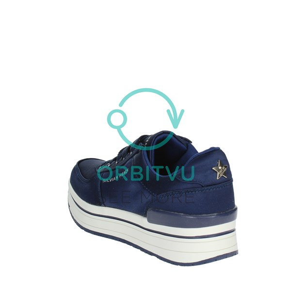 <Silvian Heach Shoes Low Sneakers Blue SH-33