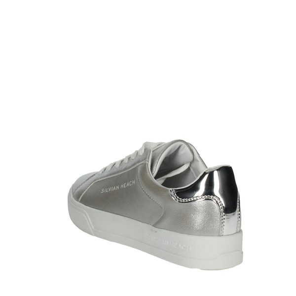 <Silvian Heach Shoes Low Sneakers Silver SH-25
